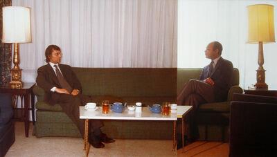 Ger van Elk, 'The Symmetry of Diplomacy with Kyneston McShine', 1972