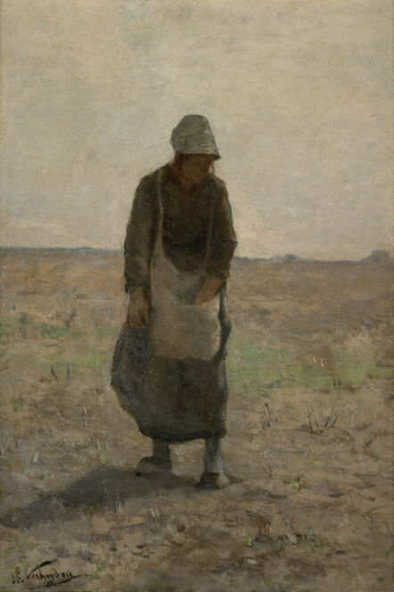 Isidore Verheyden, 'Femme aux champs, sd', Not dated