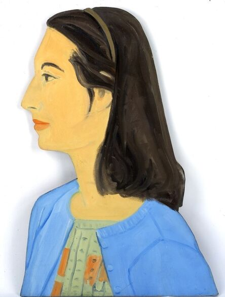 Alex Katz, 'Ada in a Blue Sweater', 1959
