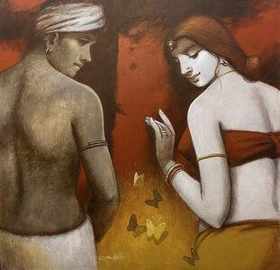 Subrata Das, 'Lovers', 2015