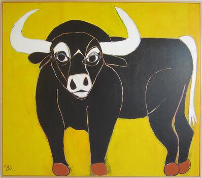 "Melinda Mcleod, '""Somerset the Black Bull"" - Acrylic on Canvas ', 2017"