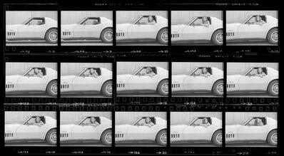 Julian Wasser, 'Joan Didion, Hollywood, 1968 (Contact Sheet 2)', 1968