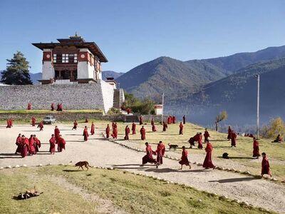 James Mollison, 'Dechen Phodrang, Thimphu, Bhutan', 2013