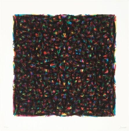 Sol LeWitt, 'Brushstrokes in All Directions', 1994