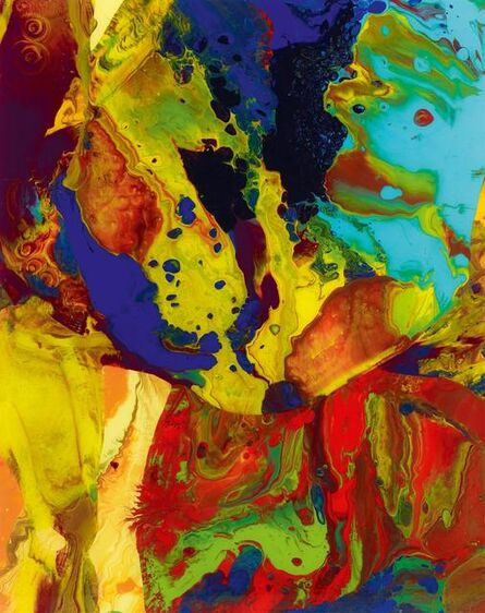 Gerhard Richter, 'BAGDAD (P9)', 2014
