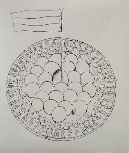 Andy Warhol, 'Wild Raspberries (Study Drawing)', ca. 1959