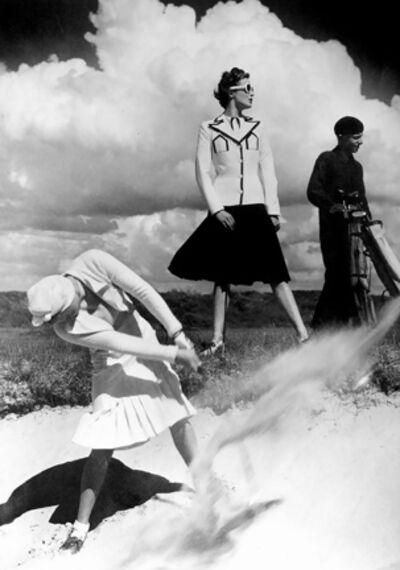 Norman Parkinson, 'Golfing at Le Toque', 1939