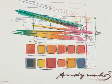 Andy Warhol, 'Watercolor Paint Kit', 1982
