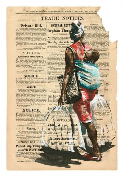 Lisette Bambine Forsyth, 'bag lady', 2020