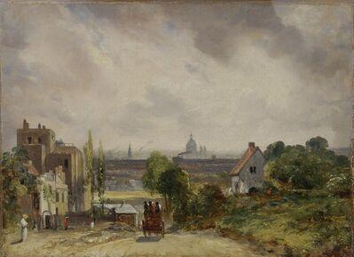 John Constable, 'Sir Richard Steele's Cottage, Hampstead', 1831 to 1832