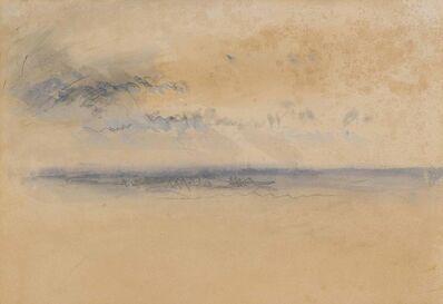 J. M. W. Turner, 'Sunset or sunrise over the south coast of England'