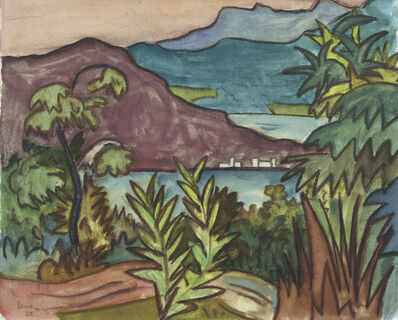 Hermann Hesse, 'Caslano', 1924