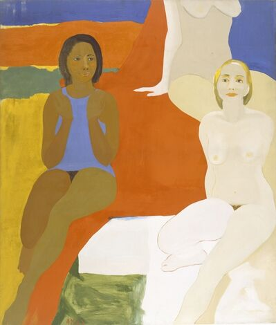Emma Amos, 'Three Figures', 1966