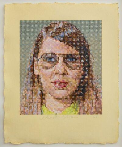Chuck Close, 'Susan', 2012