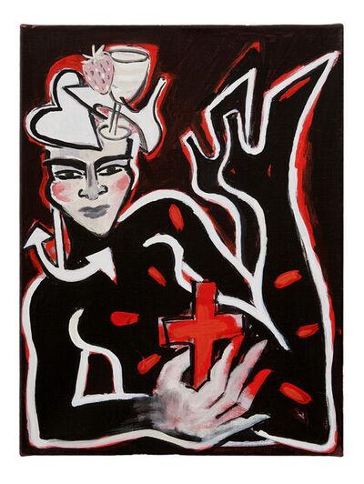Elvira Bach, 'Glaube, Liebe, Hoffnung - No 12', 2019