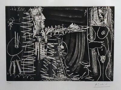 Pablo Picasso, 'Dans l'Atelier', 1966