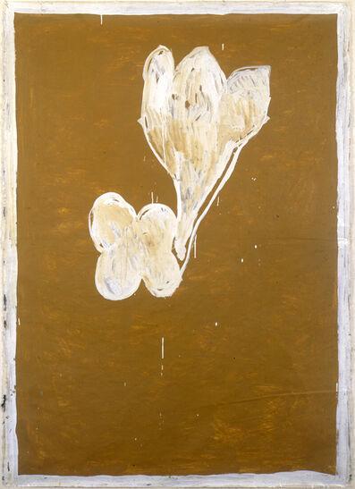 Joan Hernández Pijuan, 'Ocre i flors', 1988