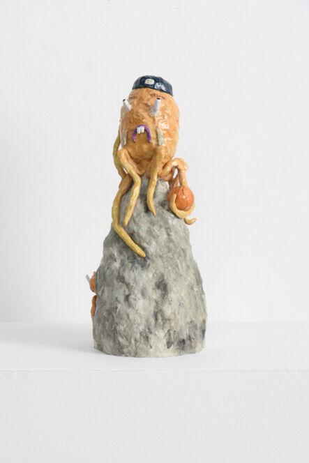 Joakim Ojanen, 'Octopus Ballin' on Home Stone with Little Guest', 2018