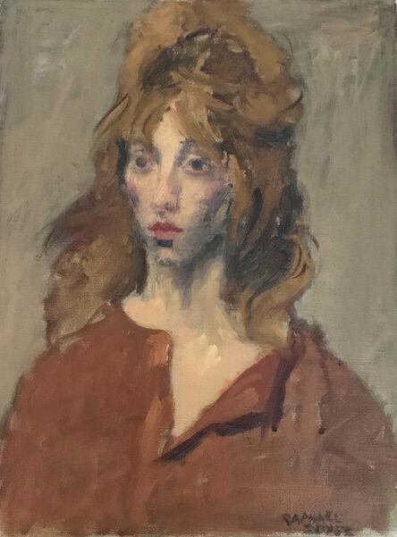 Raphael Soyer, 'Portrait of a Woman', circa 1955