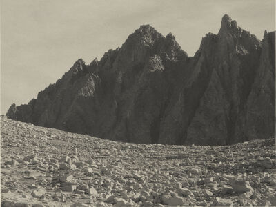 Ansel Adams, 'Bishop Pass, the Inconsolable Range', 1930