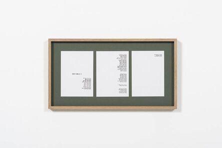 Kapwani Kiwanga, 'Greenbook, New York NY (1961)', 2019