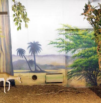 Eric Pillot, 'Antilope and Painted Decor', 2011