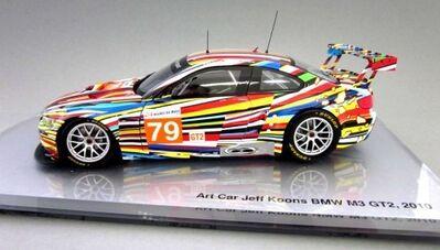 Jeff Koons, 'BMW Art Car 1:18 scale model', 2011