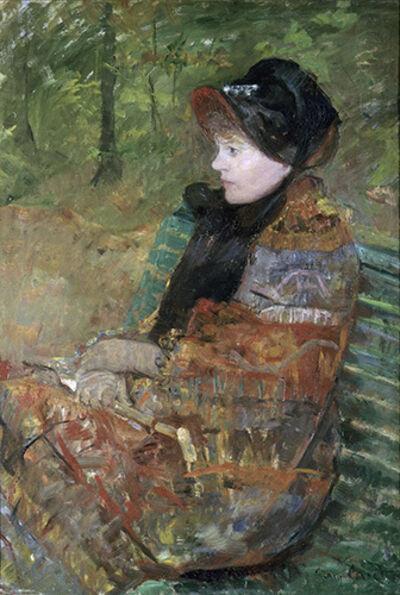 Mary Cassatt, 'Autumn, Portrait of Lydia Cassatt', 1880