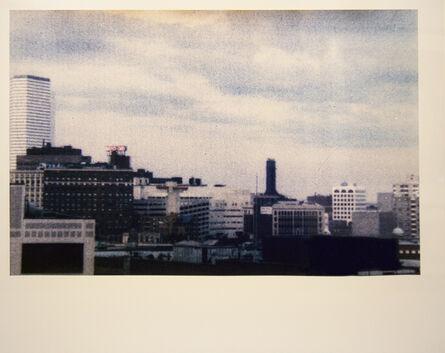 Mark Morrisroe, 'Dismal Boston Skyline', 1986