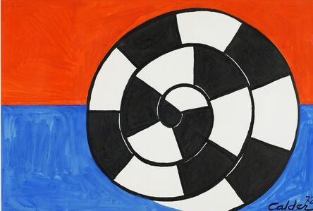 Alexander Calder, 'Incertitude ', 1972
