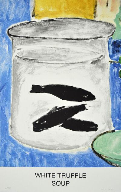 John Baldessari, 'White Trufle Soup', 2012