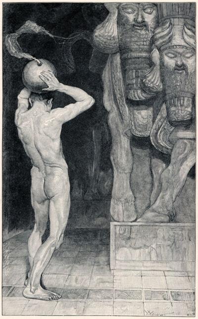 Sascha Schneider, 'Der Anarchist', 1894-1895