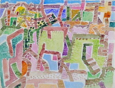Eduard Bargheer, 'Stadt (Town)', 1956