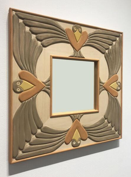 Judy Kensley McKie, 'Mirror with Birds', 2017