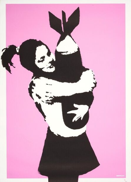 Banksy, 'Signed AP Bomb Hugger ( Bomb Lover)', 2003