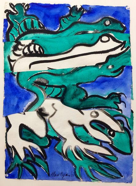 Grace Hartigan, 'Frog and Lizard', 1971