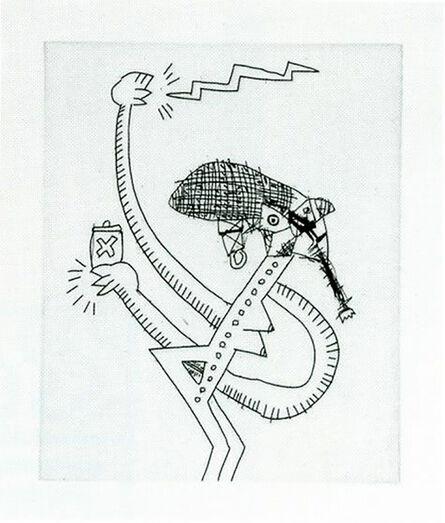 Keith Haring, 'Untitled (with Sean Kalish) I', 1989