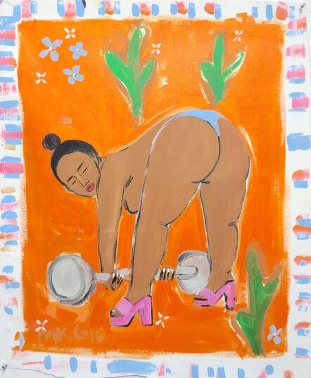 Monica Kim Garza, 'Dat D Lift', 2017