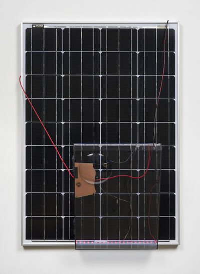 Haroon Mirza, 'Solar Powered LED Circuit Composition 27 (Liberty Cap)', 2015