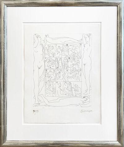 Pablo Picasso, 'Künstlerleben- ein Jahr im Atelier (Table des Eaux-Fortes)', 1931