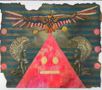 Joshua Goode, 'Birth of the Smiley Face Pyramid'
