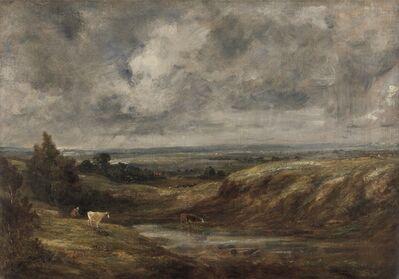 John Constable, 'Hampstead Heath', 1825 to 1830