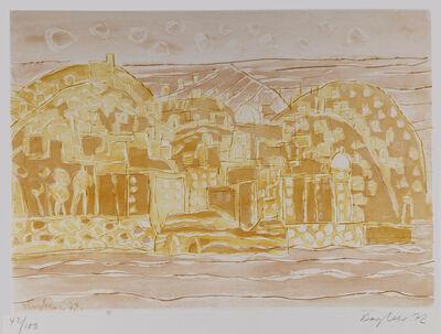 Eduard Bargheer, 'Neapel', 1972