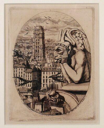 Charles Meryon, 'LE STRYGE', 1853