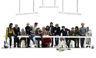 Gérard Rancinan, 'Le Banquet des Idoles', 2012