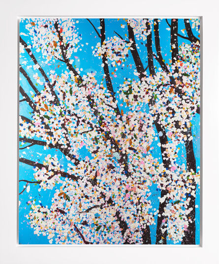 Damien Hirst, 'The Virtues 'Justice', Limited Edition 'Cherry Blossom' Landscape', 2021