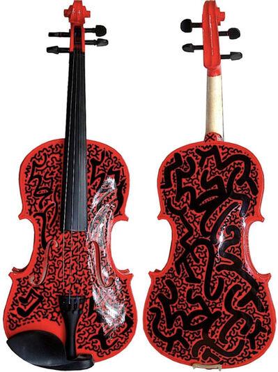 LA II (Angel Oritz), 'Fiddle Red', 2008