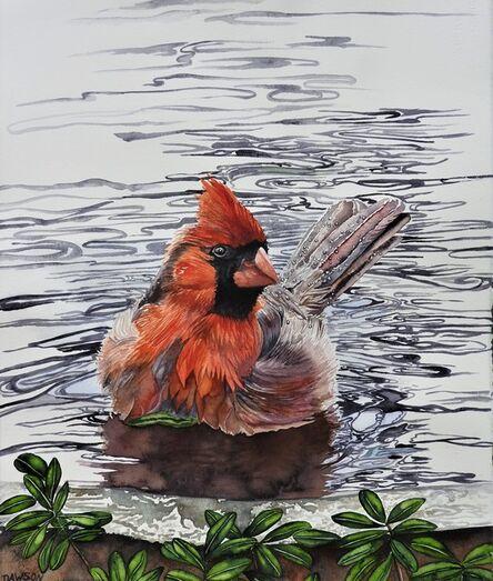 Carol Dawson, 'So Wet: Cardinal', So Wet: Cardinal