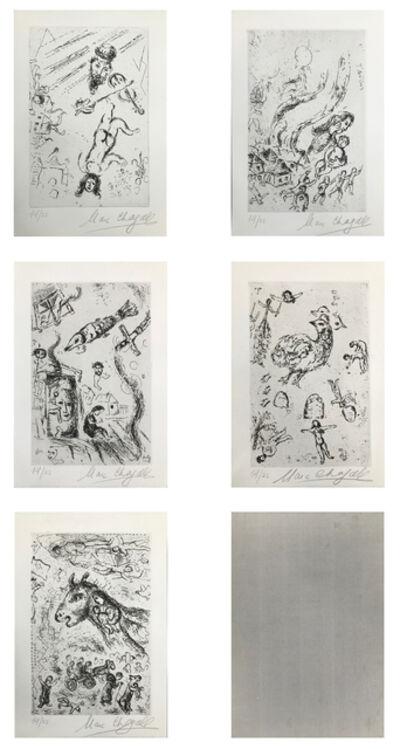 Marc Chagall, 'LETTRE A PORTFOLIO', 1969