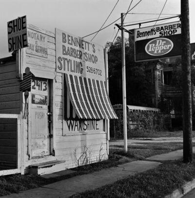 Earlie Hudnall, Jr., 'Bennet's Barber Shop', 1989
